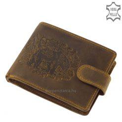 vadász férfi pénztárca medve mintával