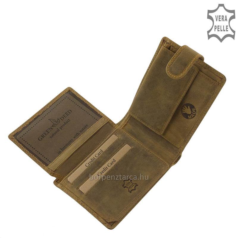 715abaed55dc Férfi pénztárca retro zsiguli mintával GreenDeed ZSIGA1027/T