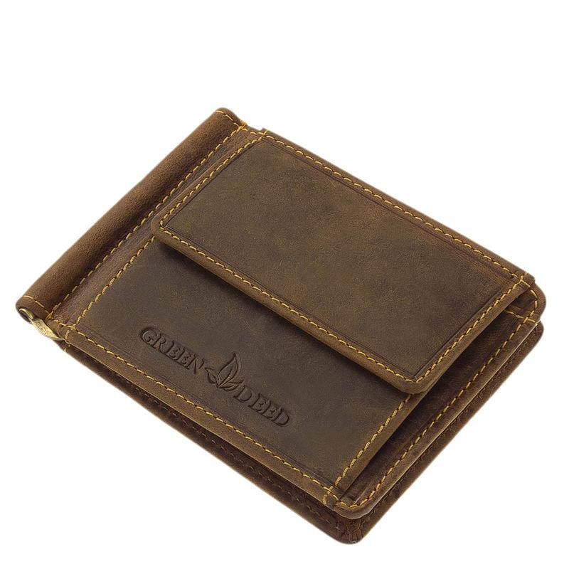 bőr dollár pénztárca