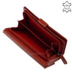 Minőségi valódi bőrből készült, igen jól kihasználható nagy méretű női bőr pénztárca a La Scala termékcsaládtól. Díszdobozos modell!