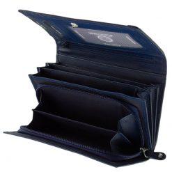 Giultieri termékcsaládunk egyik legújabb és rendkívül népszerű terméke ez az egyedi mintás, brifkó jellegű, elegáns női bőr pénztárca.