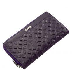 Giultieri termékcsaládunkhoz tartozó, elegáns megjelenésű és rendkívül népszerű, egyedi mintás, brifkó jellegű, női bőr pénztárca.