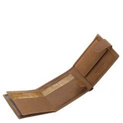 WILD BEAST márkás egyedi férfi pénztárca klasszikus fazonban, mely valódi bőr felhasználásával készült.