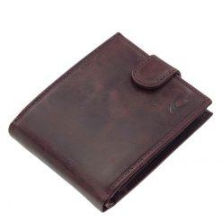 elegáns valódi bőr férfi pénztárca
