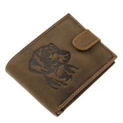 kutyás bőr pénztárca tacskó mintás