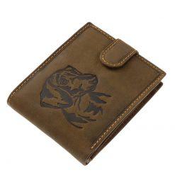 kutyás bőr pénztárca tacskó mintával