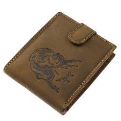 kutyás bőr pénztárca