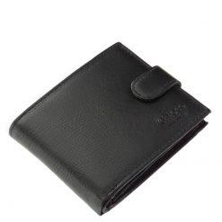minőségi valódi bőr férfi pénztárca modellünket Chioco Luxury márkanévvel hozzuk forgalomba, fekete színben és klasszikus kialakítással.