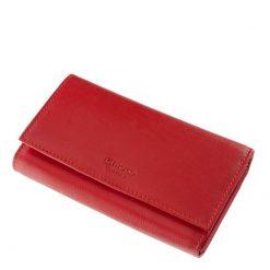 Chioco márkás valódi bőr felhasználásával gyártott nagy méretű és egyben divatos női pénztárca. A pénztárca fekete és piros színben kapható.