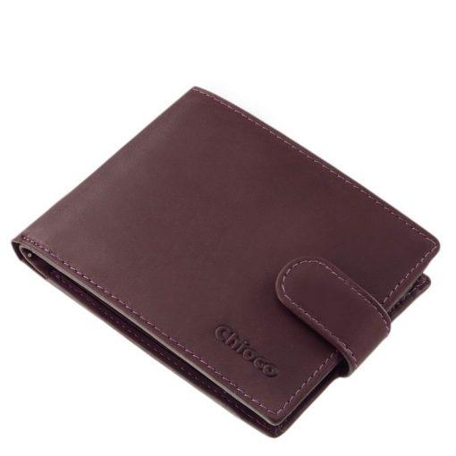Magas minőségű kártyatartós kialakítással készült, valódi bőr női pénztárca, mely ideális választás lehet ebben a lila színben.