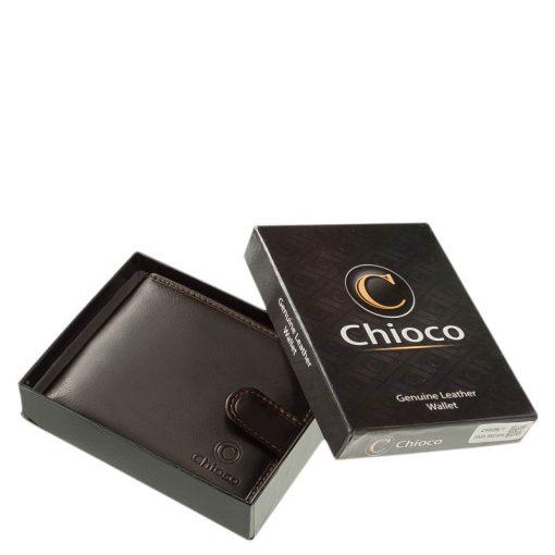 Magas minőségű bőrből készült, prémium kategóriás divatos modellünk ez dekoratív férfi bőr pénztárca, mely fekete és barna színben kapható.