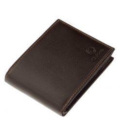 Chioco márkás prémium kategóriájú kitűnő férfi bőr pénztárca magas minőségű bőrből, melyet fekete illetve barna színben gyártunk.