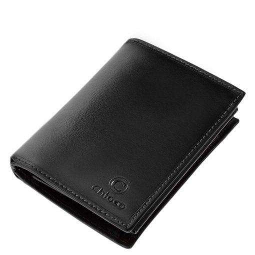 Minőségi természetes valódibőrből készült, irattartó bőr pénztárca férfiak számára, mely fekete és barna színekben került legyártásra.