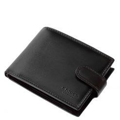 Minőségi gyártási technológiával készült marhabőrből gyártott elegáns és dekoratív Chioco márkájú klasszikus férfi bőr pénztárca.