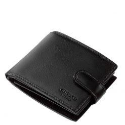 Valódi bőrből készült, elegáns férfi bőr pénztárca fekete és barna színekben, mely a minőségi Chioco termékcsaládunk egyik legújabb terméke.