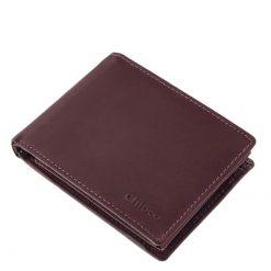 Minőségi, puha bőr felhasználásával készült ez az új fejlesztésű, elegáns lila női pénztárca modellünk praktikus kialakítással